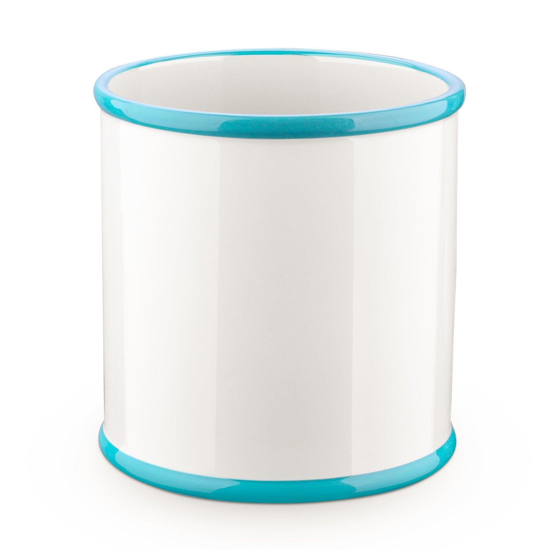 DOWAN Ceramic Utensil Crock, Utensil Holder For Kitchen, 6.5
