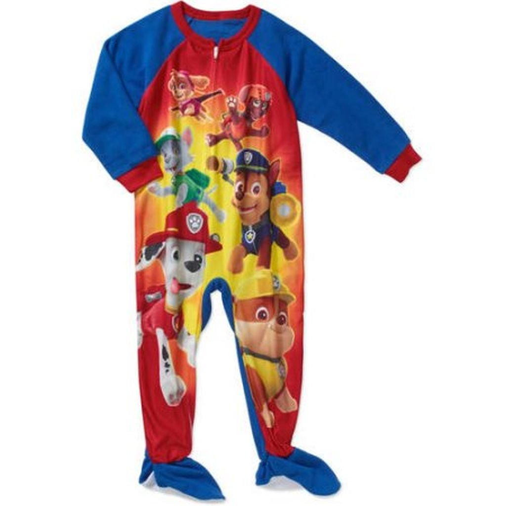 Chase PAW Patrol Boys 3T Marshall Everest Fleece Footed Pajama Sleeper