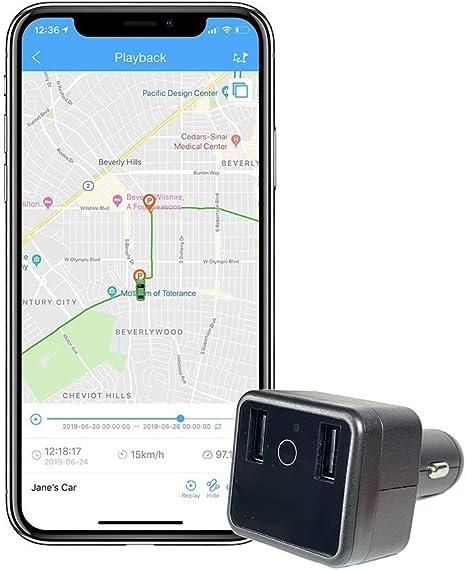 Amazon.com: ShieldGPS - Rastreador GPS para coche y cargador ...