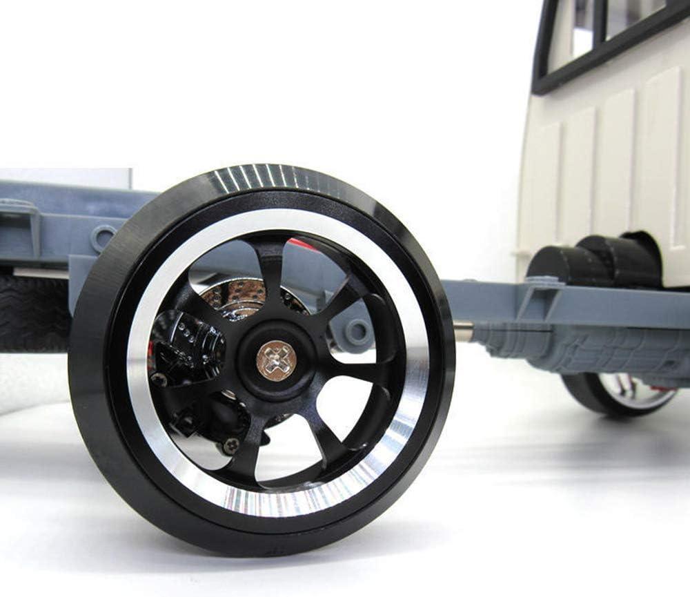 Schwarz SNOWINSPRING Metall Felge Felge und Hartes Muster Driften Reifen Reifen Setmit 5Mm Bis 12Mm Kombinierer f/ür WPL D12 1//10 RC Auto Teile