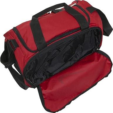 512fd47b29 Amazon.com  Nike Brasilia 5 X-Small Duffel Gym Bag Spark Black Size X-Small   Sports   Outdoors