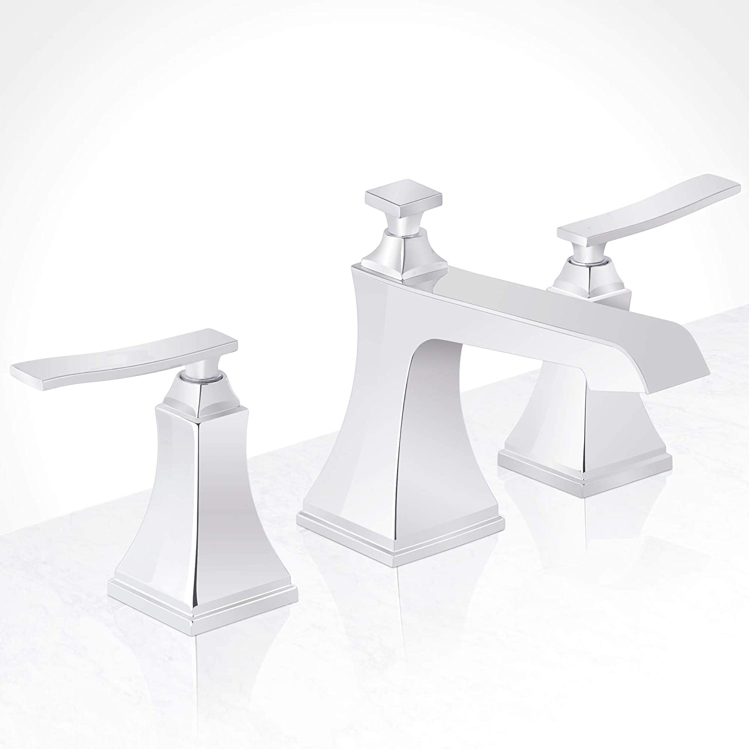 Miseno ML801 Elysa-B Widespread Bathroom Faucet - Includes Pop-Up Drain Assembly