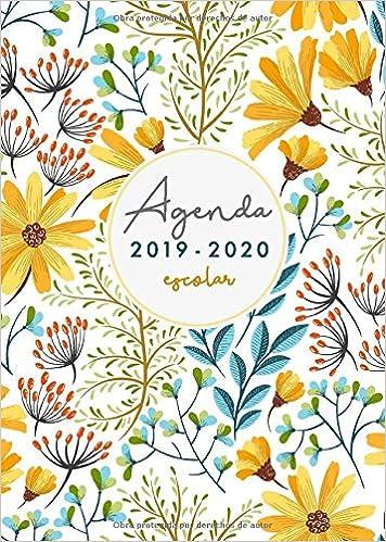 Agenda Escolar 2019-2020: Agenda Escolar Semana Vista 2019 ...