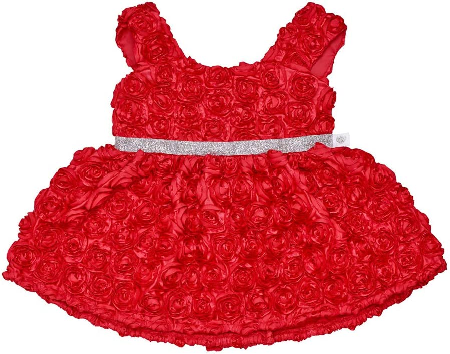 Build A Bear Workshop Online Exclusive Red Roses Dress