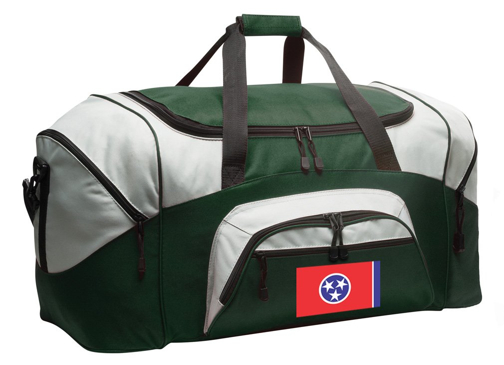 Tennessee Suitcase Duffle Bag Large Tennessee Flag Duffel Gift Idea Him Her