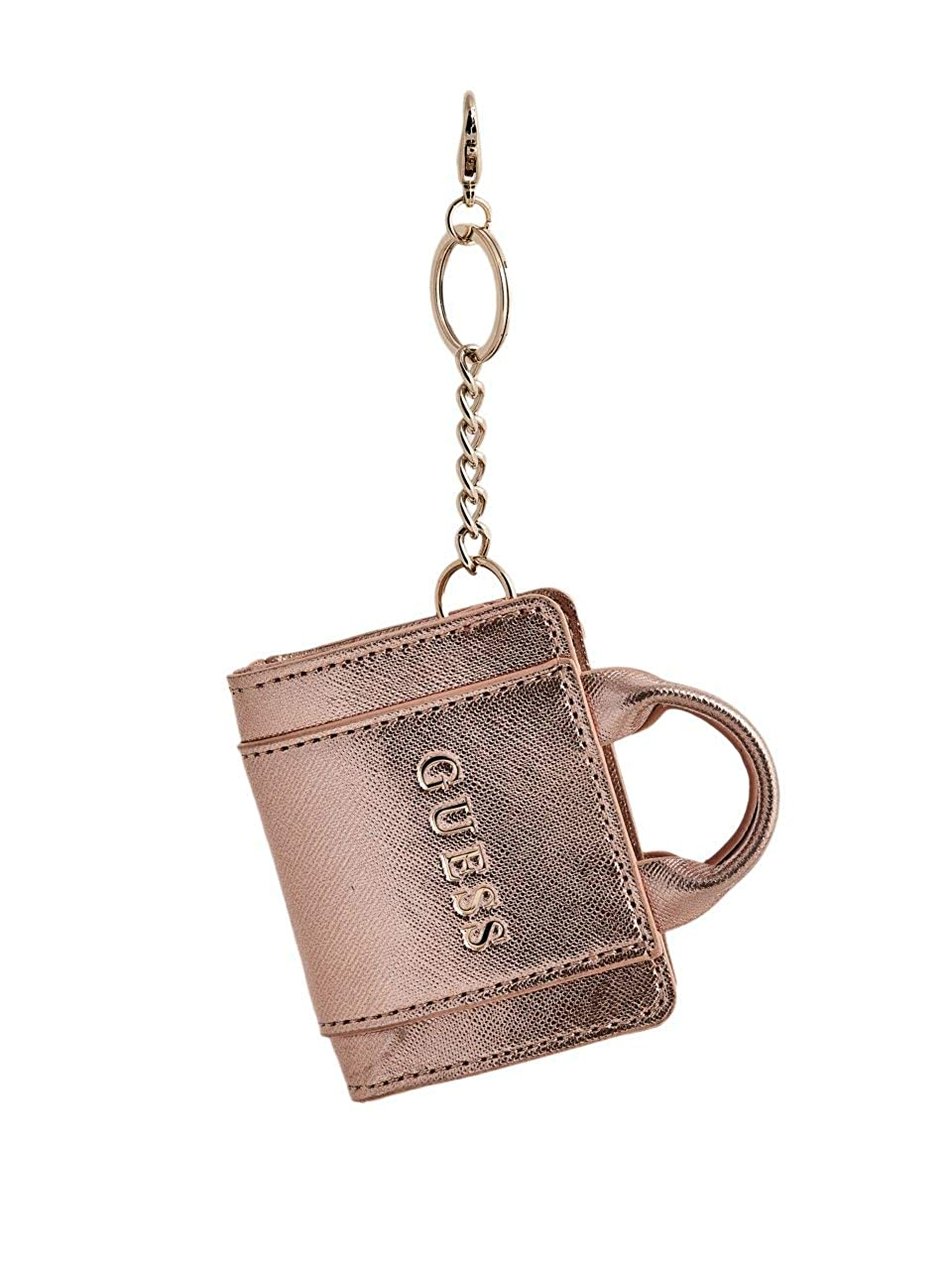 GUESS Factory Womens Taylor Satchel Keychain