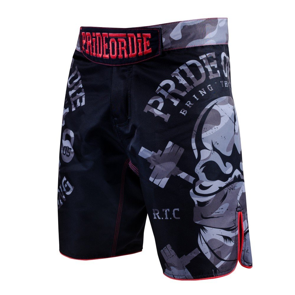 Pride or Die MMA Fightshorts, Jungle, Short, Thaiboxen Muay Thai BJJ Vale Tudo