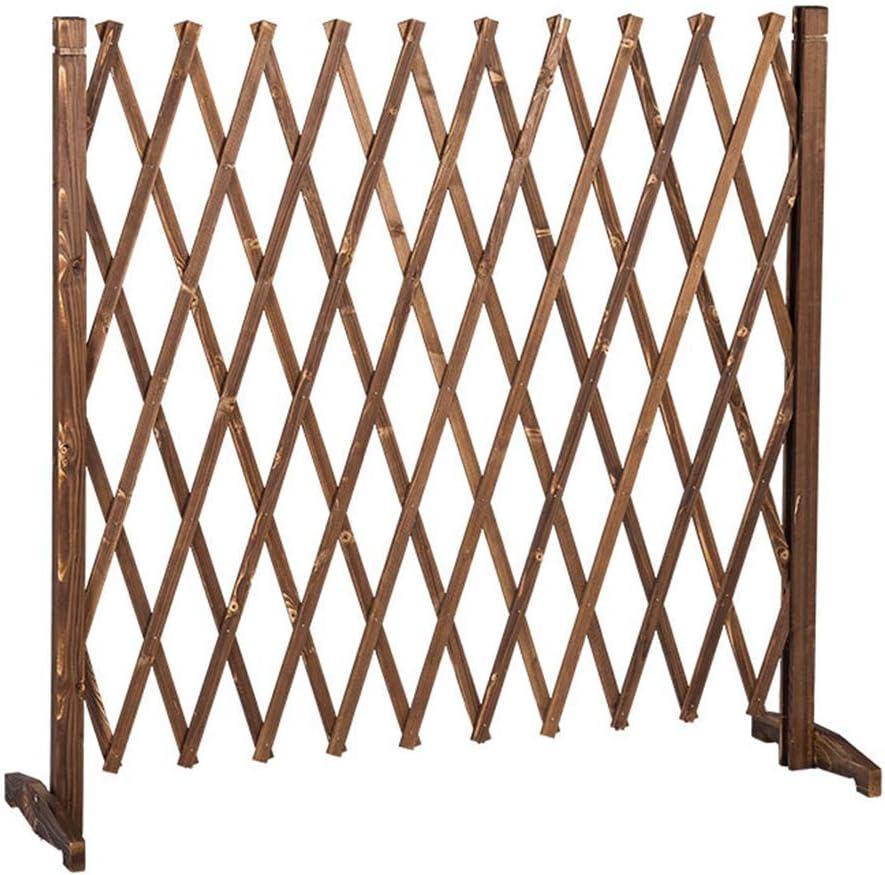 YQGOO Garden Fence,Garden Fence-Expanding Fence Garden Screen Trellis Style Expands to 1.8M Outdoor Decoration Guardrail 90 180cm