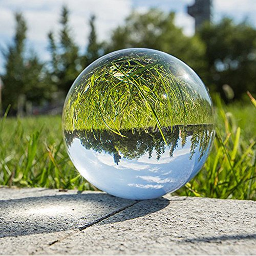 Crystal Ball Fortune Teller Glass Ball Mystical Quartz Ball Photography Props Feng Shui Divination Spheres Fortune Telling Tabletop Decorations with Stand 60mm (Crystal Ball Fortune)