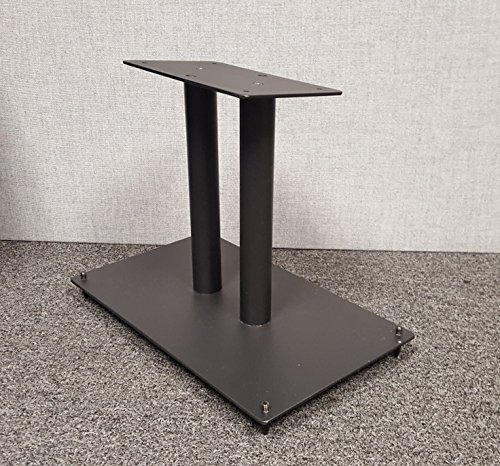 Center Channel Speaker Stand All Steel Fill-Able by Steel Made