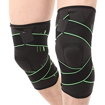 Amazon.com: Rodilleras deportivas para hombres Fitness ...