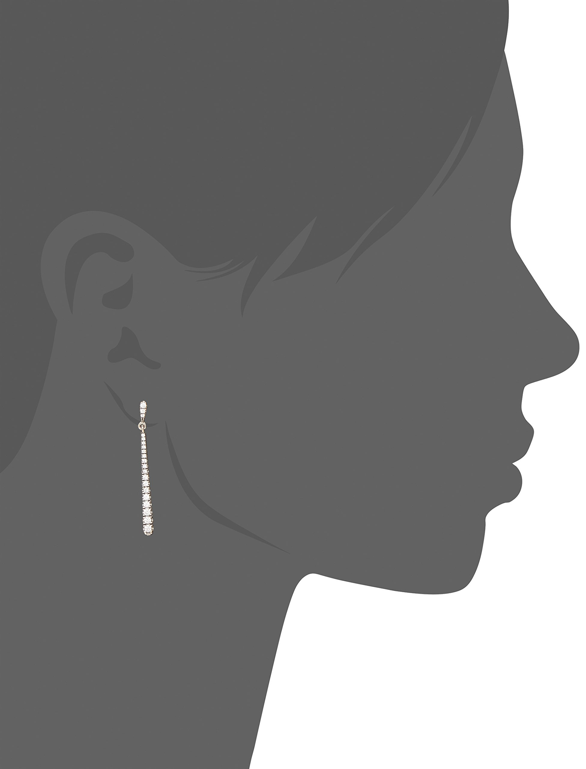 PANDORA-Shooting-Stars-Dangle-Earrings-Sterling-Silver-With-40-Bead-Set-Clear-Cz-296351CZ