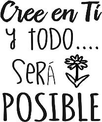 Vinilo Frase Catalán Creu En Tu I Tot Serà Possible Vinilos