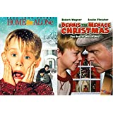"Home Alone & A Dennis the Menace Christmas ""You Better Watch Out!"" Double Feature Winter Movie DVD Bundle Set"