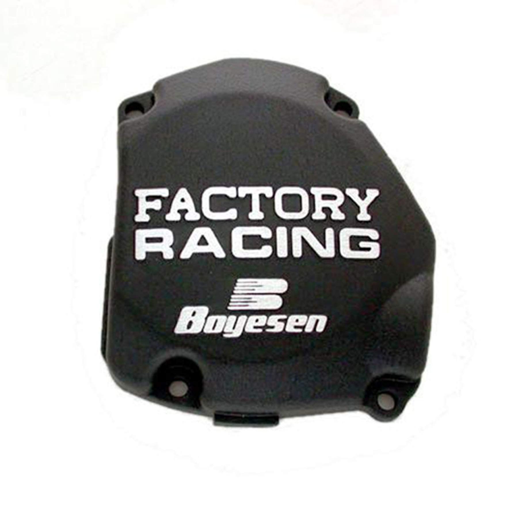 Factory Ignition Cover - Black 2007 Suzuki RM125 Offroad Motorcycle