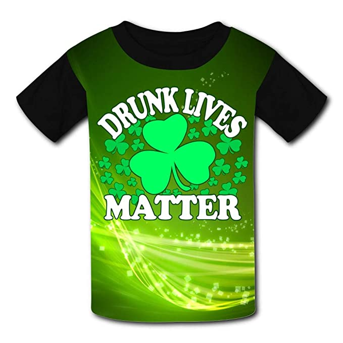 6a5b763bf Image Unavailable. Image not available for. Color: Hyejizn Youth Tee |  Hipster Funny St Patricks Day ...