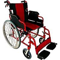 Klappbarer Rollstuhl | Mit Bremsen in der Griffen und in der Rädern | Aus Aluminium | Torre Modell | Mobiclinic