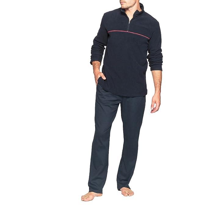 La Redoute Collections - Pantalón de pijama - para hombre Marina/Rosso XXX-Large