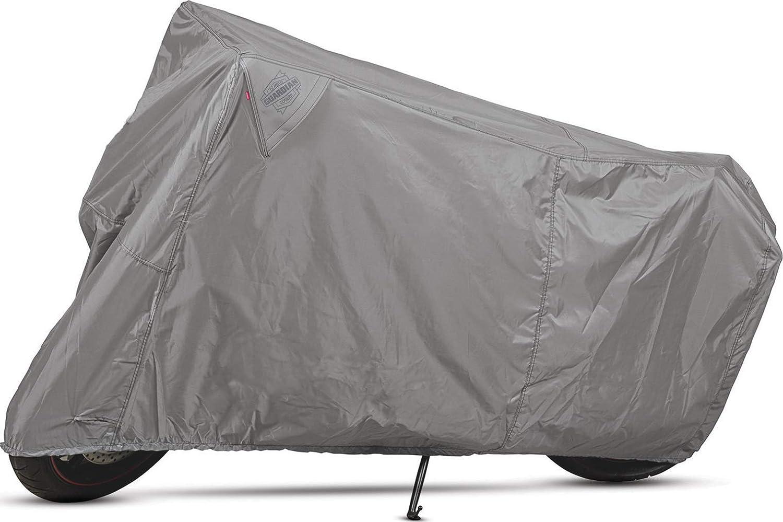 Black Dowco Guardian 50002-02 WeatherAll Plus Indoor//Outdoor Waterproof Motorcycle Cover Medium