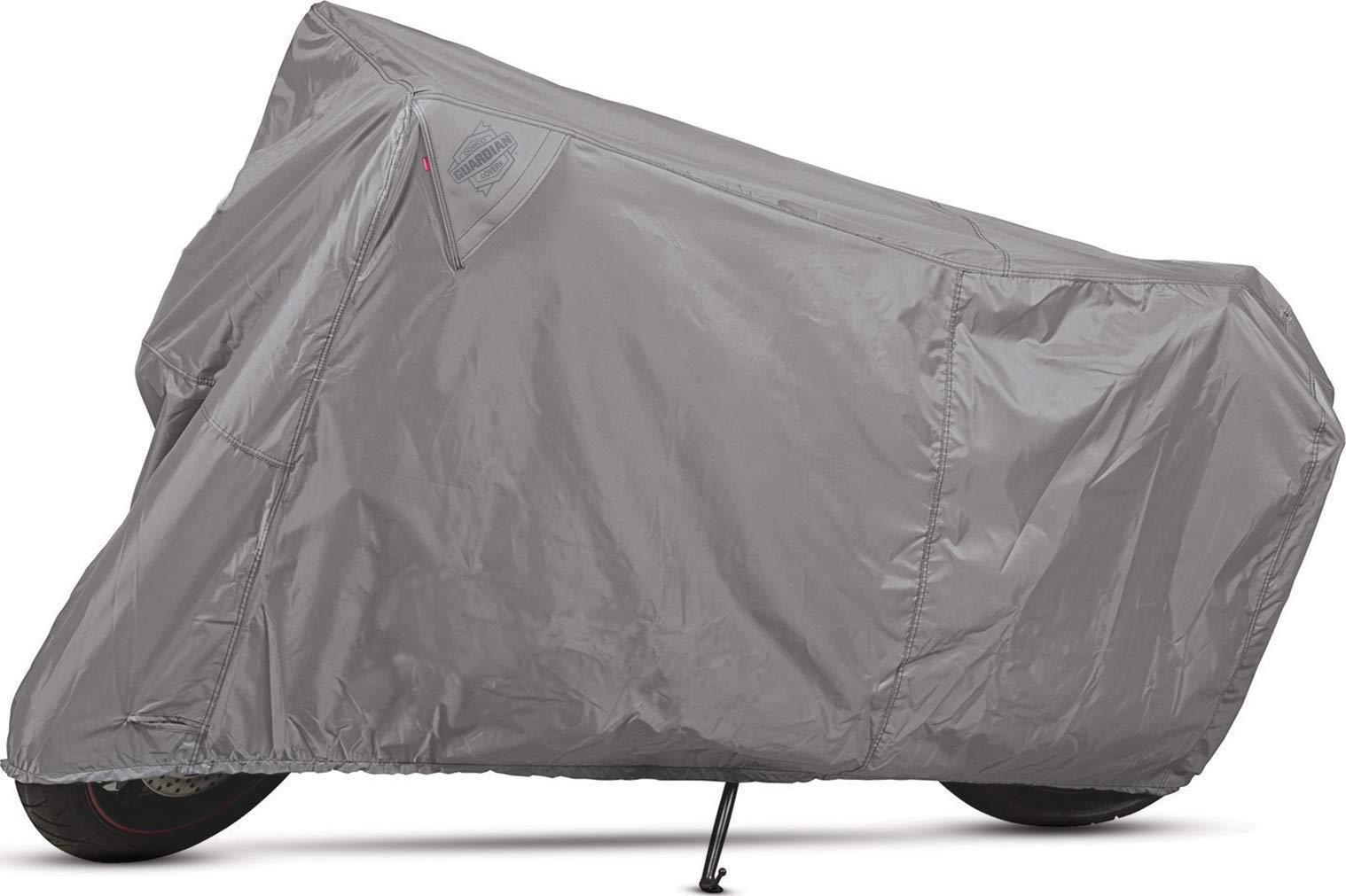 Dowco Guardian 50124-07 WeatherAll Plus Indoor/Outdoor Waterproof Motorcycle Cover: Grey, Sportbike