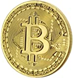 Toynk Bitcoin Gold Plated Commemorative Collector's Coin
