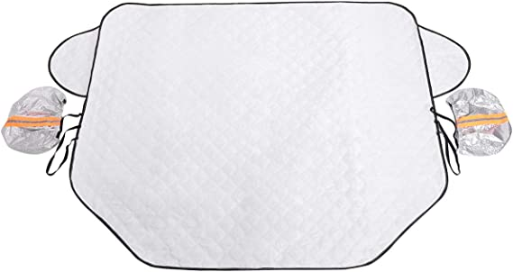 Car Windshield Snow Cover Frost Guard Winter   real