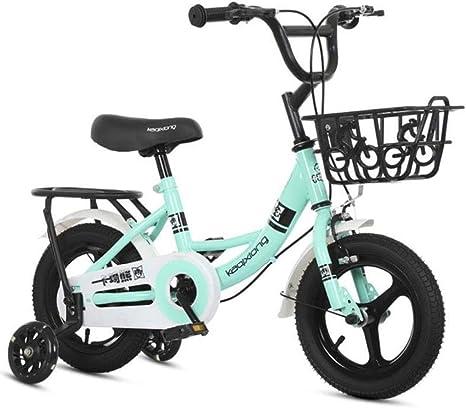 Bxiao La Bicicleta para niños Viene con un Tubo Interior, una Vespa para niña de 10 años, una Bicicleta para el niño en Bicicleta: Amazon.es: Deportes y aire libre
