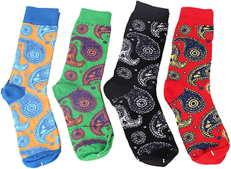 Men Funny Art Dress Socks