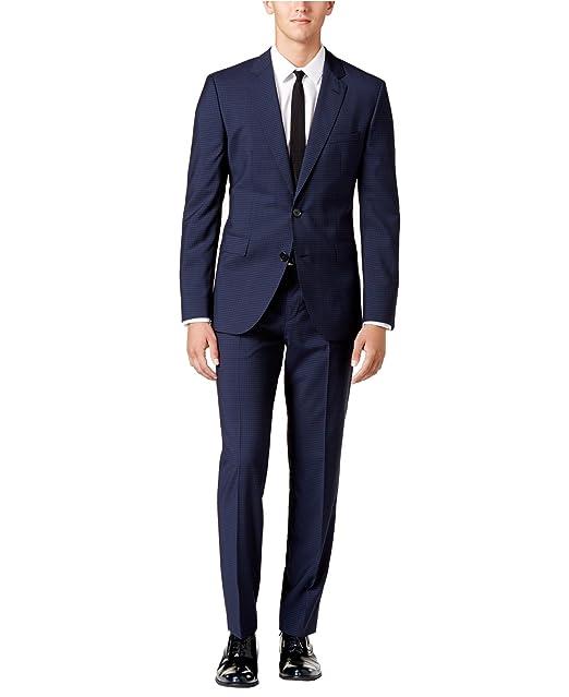 39517c91c Hugo Boss Men's Extra Slim Fit Suit C Jeffrey/C Simmons 100% Virgin Wool