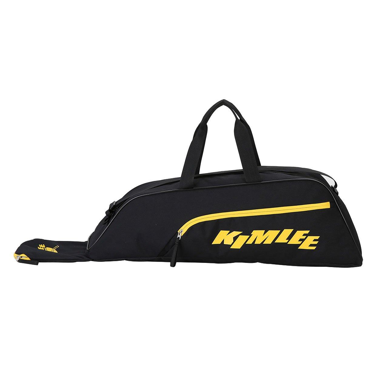 Kimlee Youth Baseball EquipmentsバッグトートバッグDuffle Bags B079B849JC  ブラック