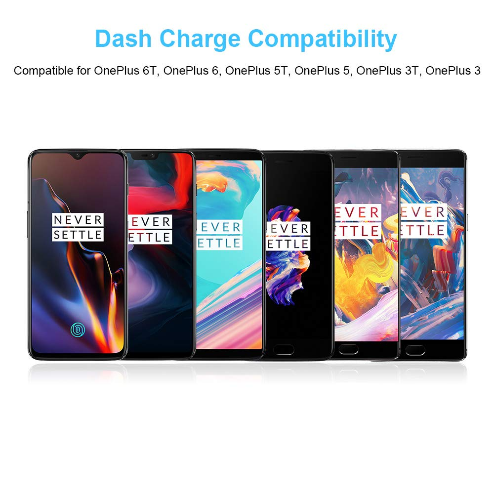 TITACUTE Dash Charge Cable USB C 30 cm Nylon Trenzado Tipo C ...