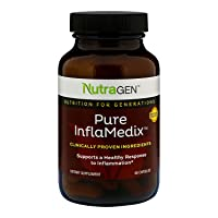 Nutragen - Pure InflaMedix, Anti-Inflammatory, Reduces Inflammation (60 Capsules)