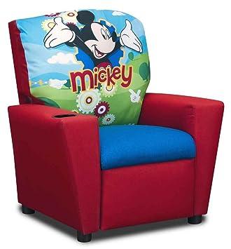 Kidz World Disneyu0027s Mickey Mouse Kids Recliner Clubhouse 554651, ...