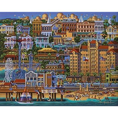 Dowdle Jigsaw Puzzle - Galveston - 500 Piece: Toys & Games