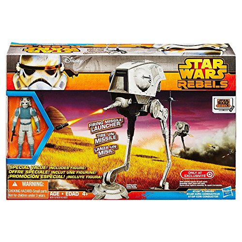Star Wars Rebels Vehicle AT-DP With Action Figure by Hasbro (Star Wars Rebels Lightsaber Toy)