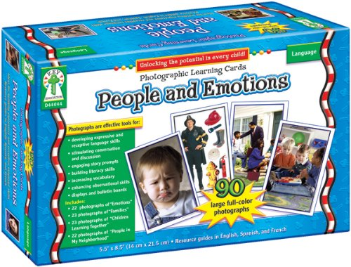 - People and Emotions Learning Cards: Photographic Learning Cards