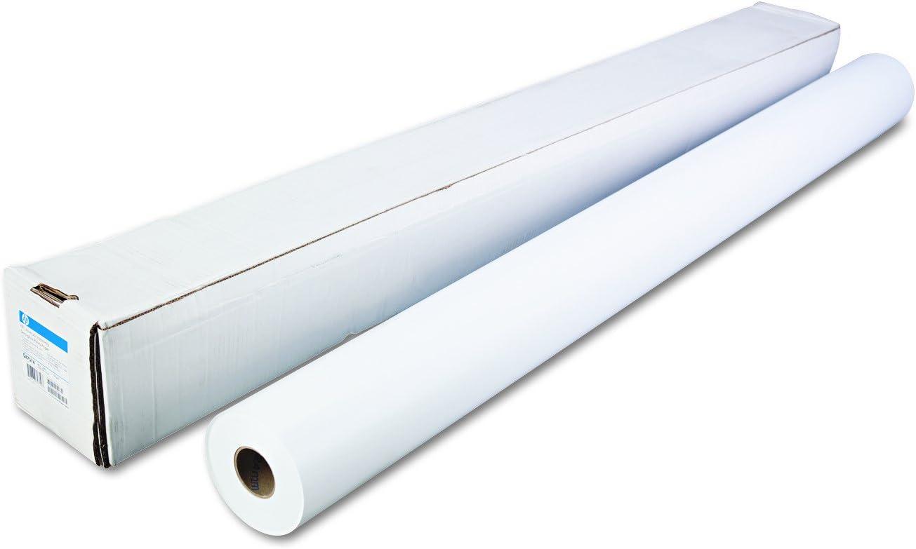 "HP Q8757A Universal Instant-Dry Semi-Gloss Photo Paper, 51 lbs., 60"" x 200 ft, Roll"