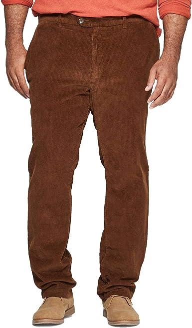 Goodther Co Pantalones De Pana Para Hombre Ajustables Color Marron Marron 30w X 32l Amazon Es Ropa Y Accesorios