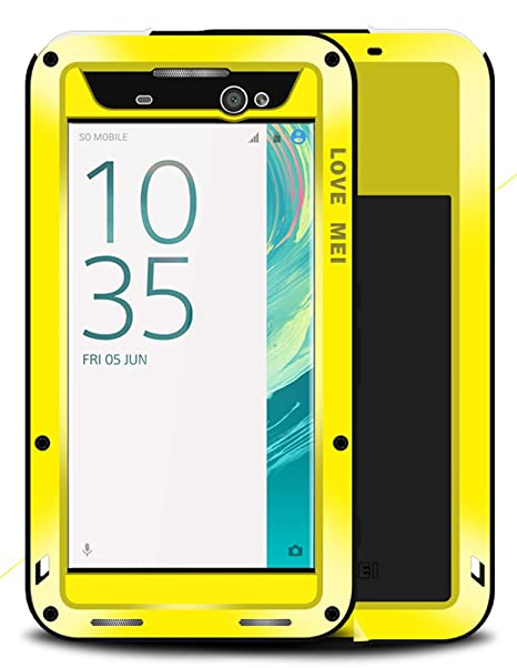 low priced f8bc0 95c80 Amazon.com: Waterproof Case for Sony Xperia XA Ultra (6 inch), LOVE ...