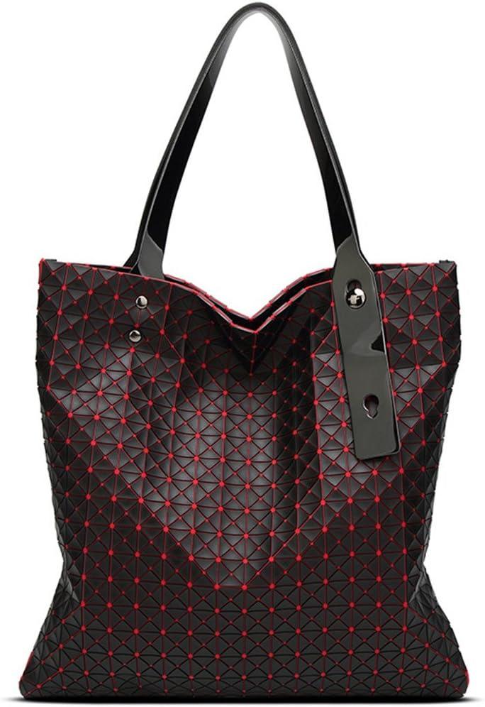 Silikagel Frauen Taschen Taschen Geometrie gesteppte