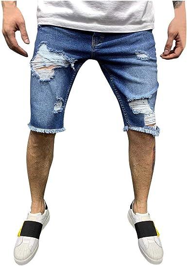 Hommes Jeans Shorts Jeans Shorts Denim pantalon court Pantalons