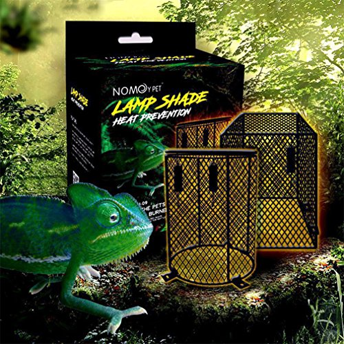 Nomoypet Heater Guard Reptile Vivarium Light Heat Lamp
