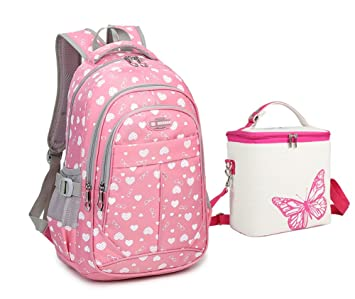 Amazon.com: Tonlen - Juego de mochila y bolsa de almuerzo ...