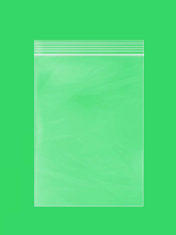 Clear Plastic Reusable ZIPLOCK Bags - Bulk GPI Pack of 200 6