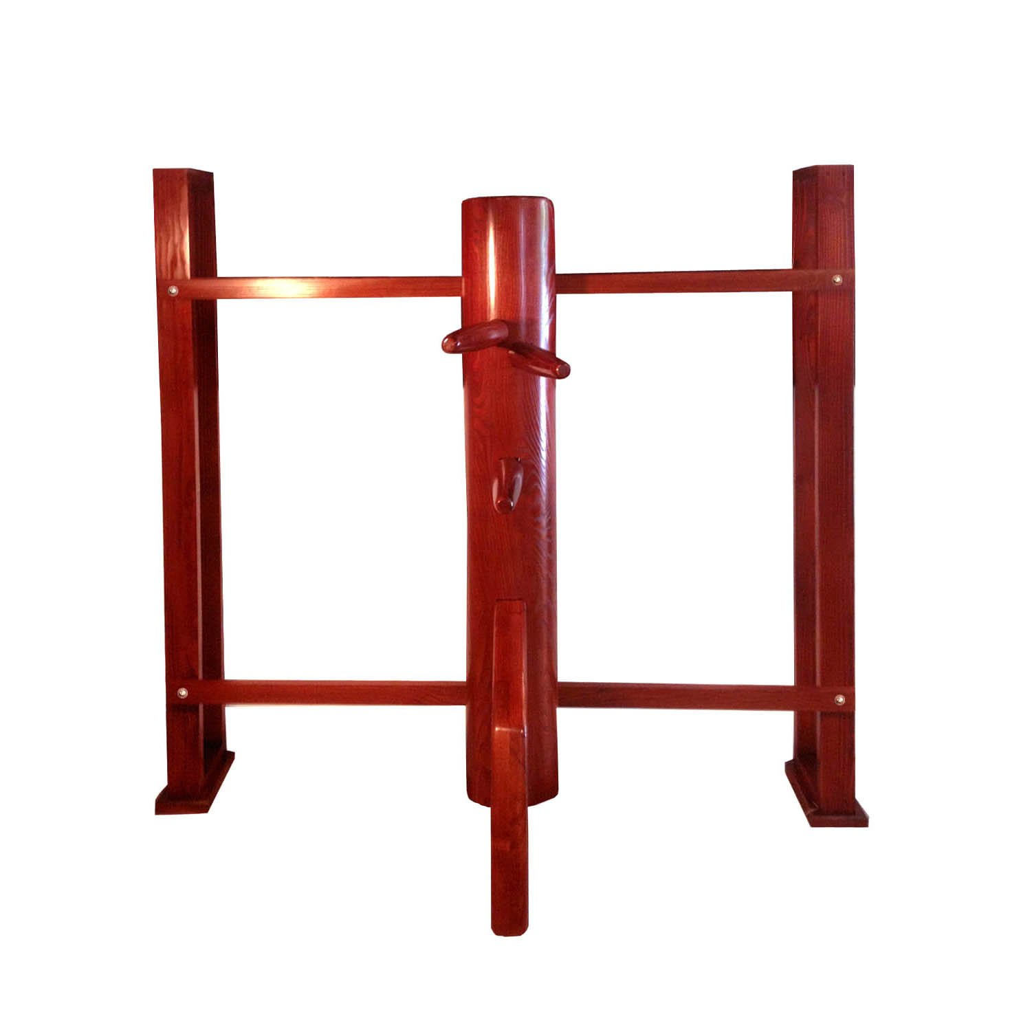 Wing Chun Dummy with Wall Mounted Stand by wingchundummys.com