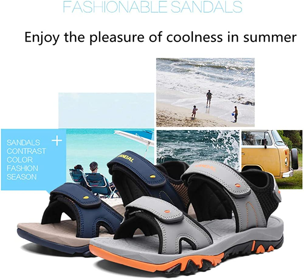 Men/'s Summer Respirant Loisirs Sandales Plates Ths01