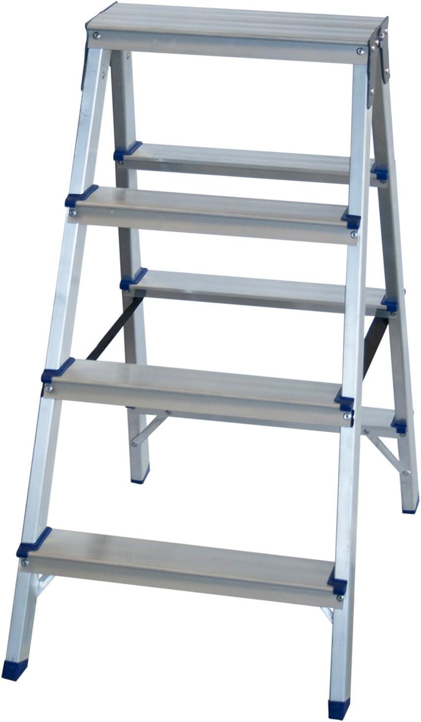 Arcama TD04 Escalera tijera, 4 x 2 peldaños: Amazon.es: Bricolaje y herramientas
