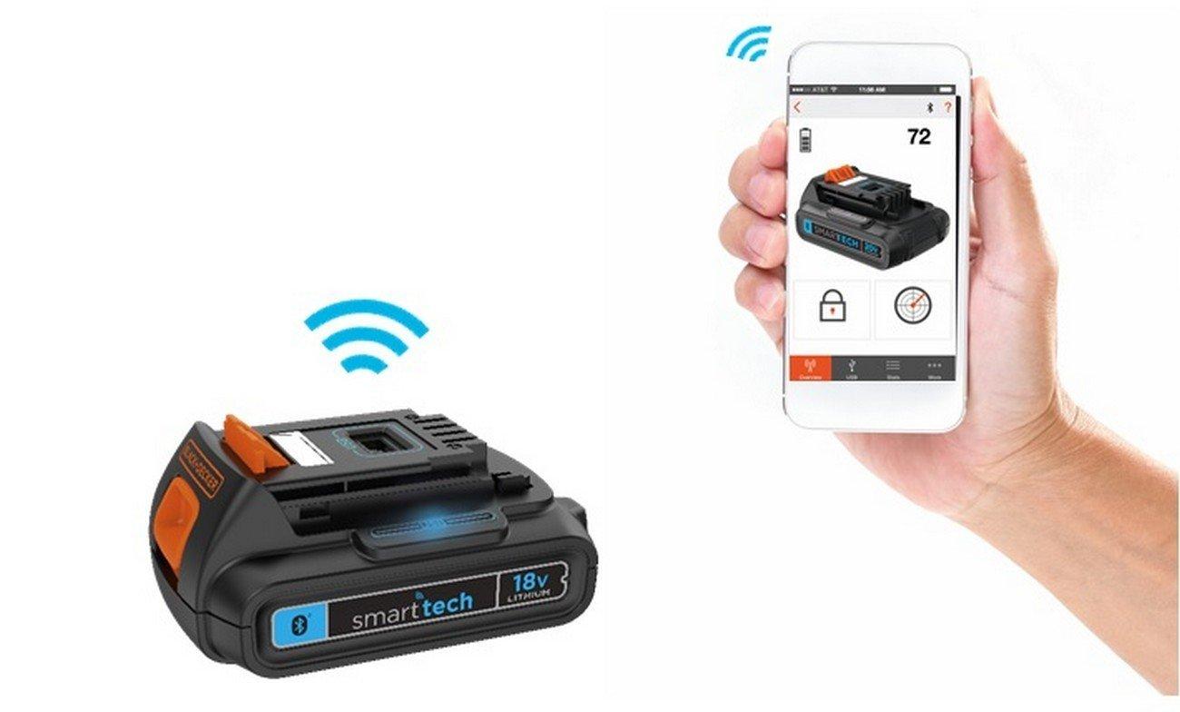 BLACK+DECKER BDCDC18KST-GB 18V Lithium-Ion Drill Driver with Smart tech 18 V Black//Orange