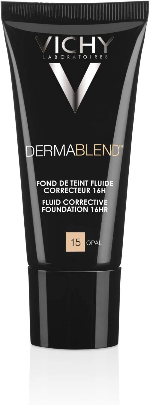 Vichy Dermablend Concealing Foundation With Spf 35 Number 15 Opal Amazon Co Uk Beauty