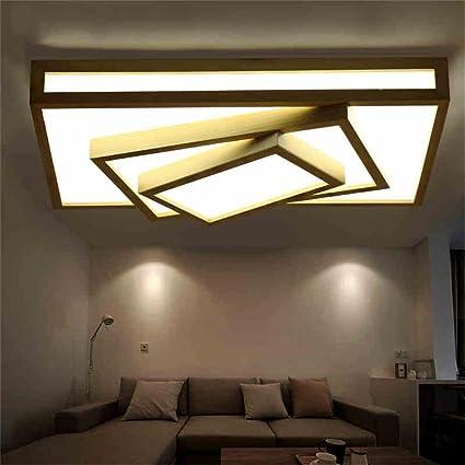 lampade in stile giapponese semplice plafoniera legno vivo ...